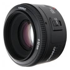 <b>Объектив YongNuo AF 50mm</b> f/1.8 Nikon F — купить в интернет ...