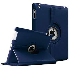 Aavjo <b>360 Degree Rotating PU</b> Leather Flip Case Cover for Apple ...
