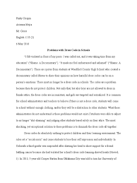 argumentative essay on school dress code  argumentative essay on school dress code