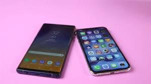 Galaxy Note 9 với iPhone X: Trận chiến của flagship nghìn đô