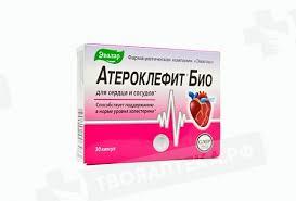 <b>Атероклефит БИО капс N30</b> БАД - цена от 340 руб., купить в ...