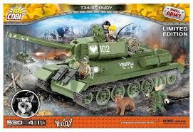 <b>Конструктор Cobi Small Army</b> 2486 T-34/85 Руди — купить по ...