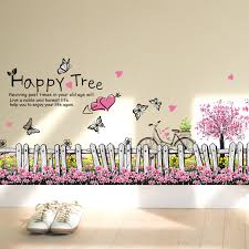 buy 3 get a 3d pvcwall stickers pink blooms remova buy bedroom furniture