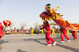 Dragon <b>Dances</b> for Chinese <b>New Year</b>, North and South Styles
