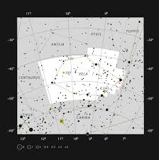 The open <b>star</b> cluster NGC 2547 in the constellation of <b>Vela</b>   ESO ...