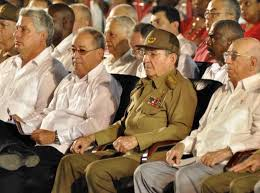 Raúl Castro preside en Cuba acto por Día de la Rebeldía Nacional