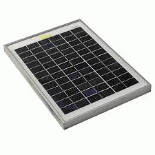 Elecmake <b>20W</b> / <b>12V Solar Panel</b>, Solar Plate - (20 W / 20 Watts ...