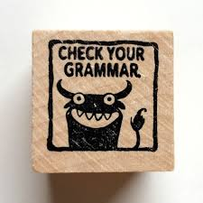check your grammar monster rubber stamp for teachers 128270zoom