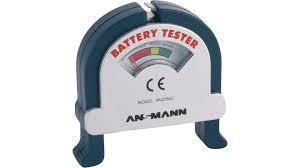 <b>4000001</b>   Buy <b>Battery Tester</b>, 0 ... 9 VDC   <b>Ansmann</b>   Elfa
