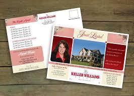 post card design portfolio expert brand marketing real estate agent sally pietracatella