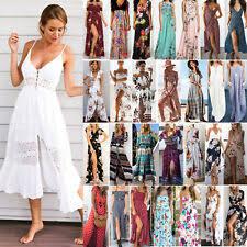 <b>Chiffon Summer Dresses</b> for <b>Women</b> for sale | eBay