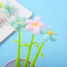 <b>36pcs</b>/<b>set Korean</b> Stationery Silicone Sunflower Quick Dry Brush ...