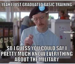 Basic Training to Everything - Navy Memes - clean mandatory fun via Relatably.com