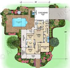 Boones Farm House Plans   Home Plans By Archival DesignsBoones Farm House Plan   Texas Style   First Floor Plan