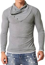 MODCHOK Men's <b>Turtleneck</b> Shirts Slim Fit Thermal <b>Sweater</b> ...
