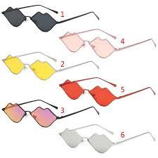 <b>Lips</b> Shape <b>Sunglasses</b> Women <b>Sexy Mouth</b> Sun <b>Glasses</b> Clear ...