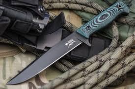 "<b>Тактический нож</b> ""<b>Intruder</b>"" (<b>D2</b>, Black) Kizlyar Supreme купить в ..."