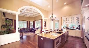Create a Spacious Home   an Open Floor Plankitchen and great room share a large open floor plan