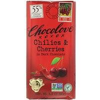 Chocolove, <b>Ginger Crystallized in Dark</b> Chocolate, 65% Cocoa, 3.2 ...