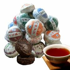 10 pcs 50g Chinese <b>Puer Tea</b> Raw and Cooked <b>Puerh tea</b> ...