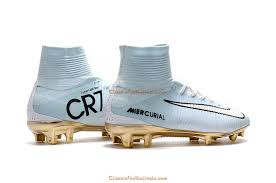 gold cleats soccer