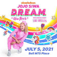 Nickelodeon's <b>JoJo Siwa</b> D.R.E.A.M. The Tour - Bell MTS Place ...