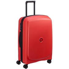 Suitcases - <b>Delsey Belmont Plus</b> 71cm Trolley Case Tangerine ...