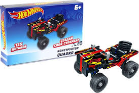 <b>Конструктор 1 Toy Hot</b> Wheels ''Quadro'' (135 деталей) Т15399 ...