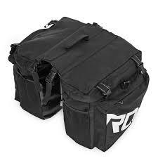 <b>ROSWHEEL</b> Bike <b>Bags</b> 37L <b>MTB Mountain Bike</b> Rack <b>Bag</b> 3 in 1 ...