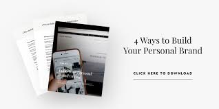 building a personal brand and improving the audience experience ways you can start building your personal brand it showcases the four highest impact strategies for building your and engaging your audience