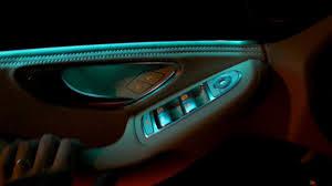 2015 mercedes c class w205 ambient light interior led lights review presentation c200 c300 c400 ambient interior lighting