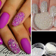 Glass Micro Beads In Nail Art Accessories for sale   eBay