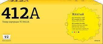 <b>Картридж T2 CE412A</b>, <b>TC</b>-<b>H412A</b>, желтый