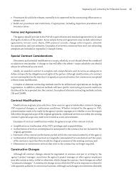 chapter negotiating and contracting for professional services cancel page 47