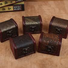 1pc Small <b>Vintage</b> Decor <b>Trinket</b> Wooden Jewelry Storage Box ...
