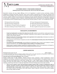 Example Resume  Sample Resume Customer Service Manager  summary of     Binuatan