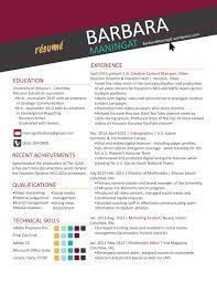 resume barbara maningat creative content manager