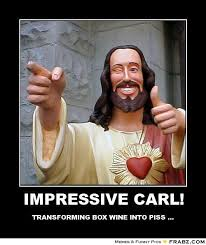 IMPRESSIVE CARL!... - Enthusiastic Jesus Meme Generator Posterizer via Relatably.com