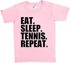 Fancy A Snuggle <b>Eat</b>. <b>Sleep</b>. <b>Tennis</b>. <b>Repeat</b>. Kids Boys/Girls T-Shirt ...