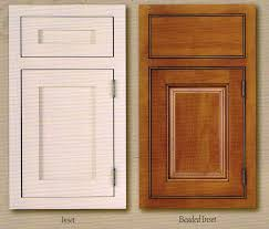 Paint Grade Cabinets Heres A Good Example Of Two Different Inset Door Options The