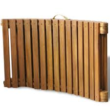 Tidyard <b>Sunlounger</b> Wooden <b>Sun Lounger</b> Ga- Buy Online in ...