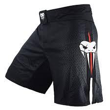 SOTF MMA Boxing Fight Shorts Mens Stretch Sports ... - Amazon.com