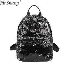 Backpack <b>Women</b> Delicate <b>Sequins</b> Changing Color <b>Fashionable</b> ...
