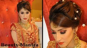 indian wedding makeup gorgeous reception look plete hair and makeup