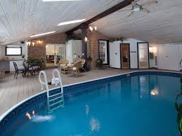 Delighful Indoor Pool House For Sale Room With Heated Sauna And Steam Intended Innovation Ideas
