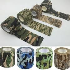 Outdoor Camouflage <b>Self</b>-<b>adhesive Telescopic Non</b>-<b>woven</b> Tape ...