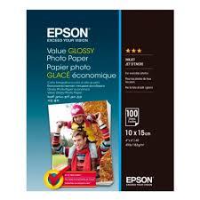 <b>Бумага EPSON</b> C13S400039 <b>Value Glossy</b> Photo <b>Paper</b> 10x15 ...
