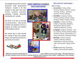 child care center first baptist church child care center