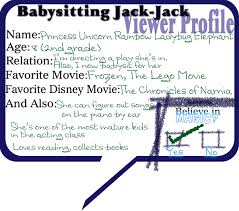 babysitting company s babysitting business slogans great babysitting jack jack disney from snow white to the snow queen