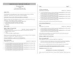 bartender resume skills com bartender resume skills for a job resume of your resume 7